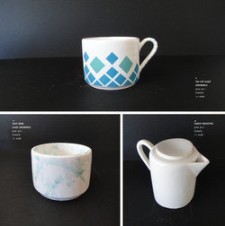 Ceramic set by Sofia Malato