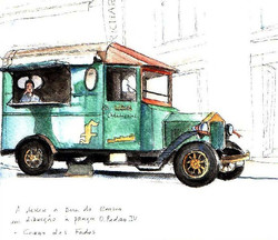 Fado car in Lisbon - by Sofia Malato