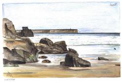 Tonel beach, Sagres - by Sofia Malat