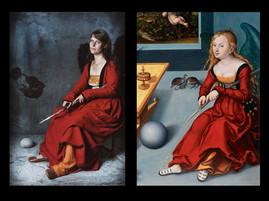 """Cranachs """"Melancholia"""" - 1532 AD"""