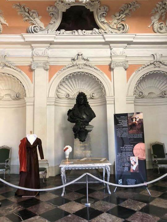 Display Schloss Weilburg - Sonderanfertigung im Rahmen der Ausstellung