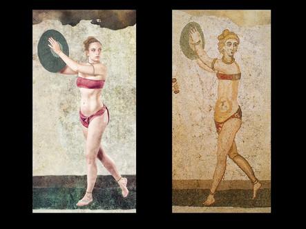 Roaman Dancer - 350 AD