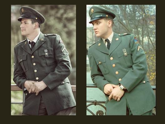 Elvis Uniform - 1957 AD