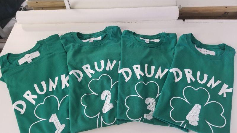 Custom unique st patricks day shirts printing