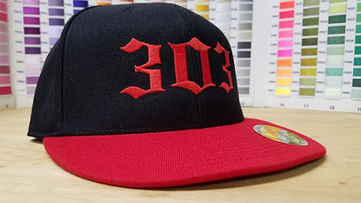 custom embroidered hats no minimum