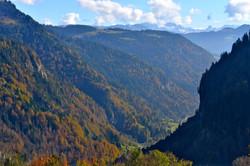 Savoie, vers la Giettaz