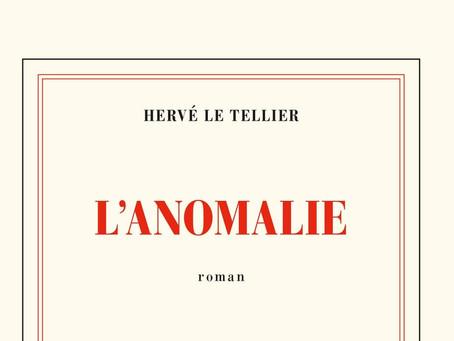 Prix Goncourt 2020 : L'Anomalie d' Hervé Le Tellier