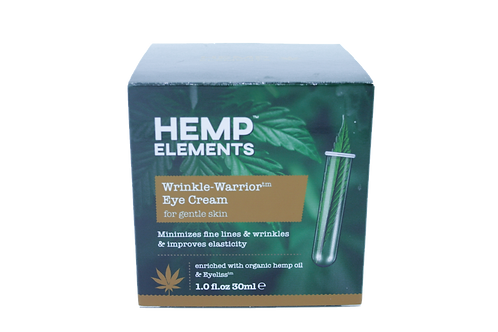Hemp Elements Wrinkle Warrior Eye Cream