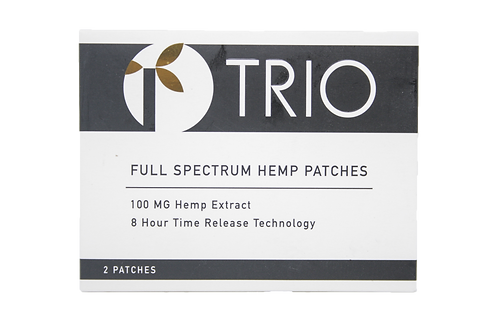 Trio Full Spectrum Hemp Patches