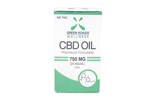 Green Roads CBD Oil 750mg