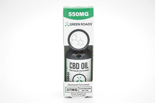 Green Roads CBD Oil 550mg