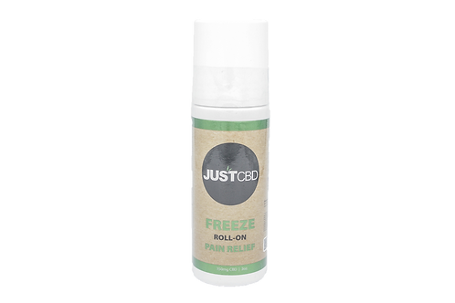 JustCBD Freeze Roll-On Pain Relief 3oz