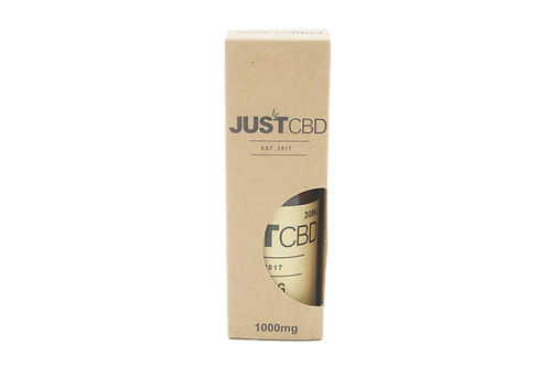 JustCBD Honey Liquid Tincture 1000mg