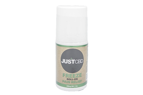 JustCBD Freeze Roll-On Pain Relief 2oz
