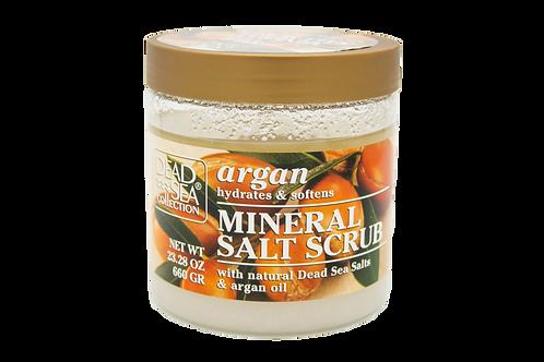 Dead Sea Argan Mineral Salt Scrub