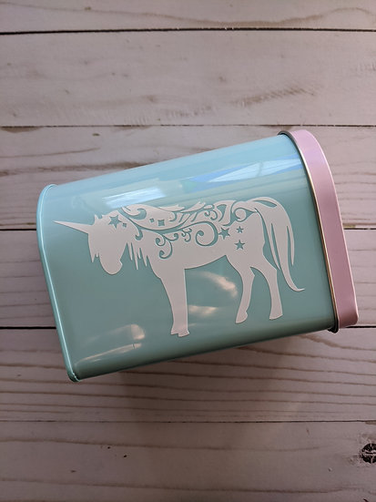 Unicorn Valentine's Day Mailbox
