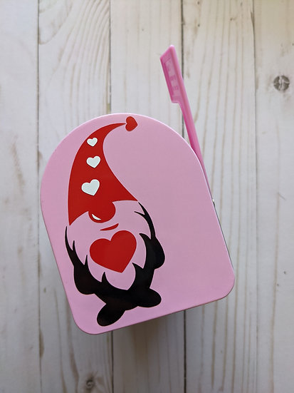 Gnome Valentine's Day Mailbox