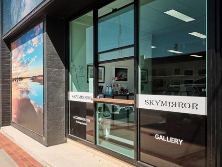 Skymirror gallery café now open 7 days a week!