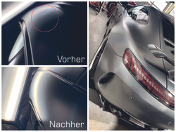 AMG GTR Dellenreparatur