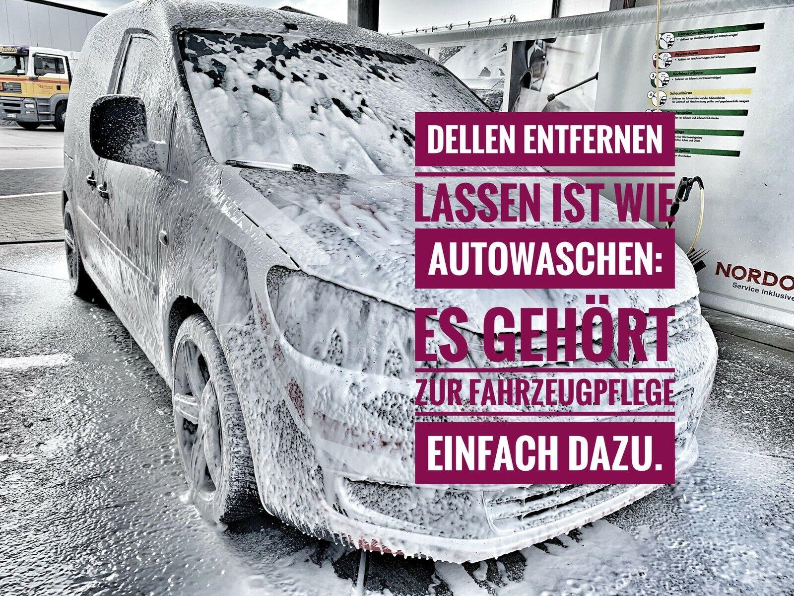 Dellen entfernen lassen ist Fahrzeugpflege
