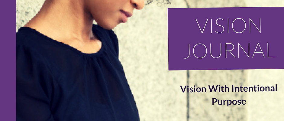 New Interactive Vision Journal with Personal Development Tools