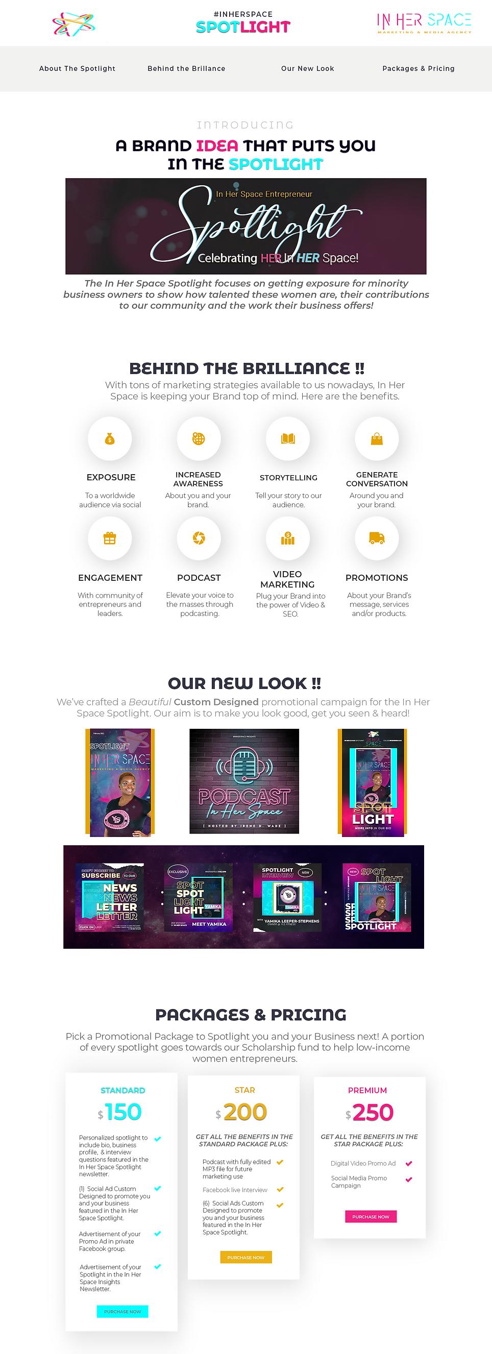 IRENE_spotlight sales page Newsletter 2.