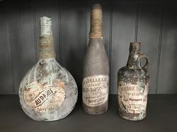 Flasker med patina