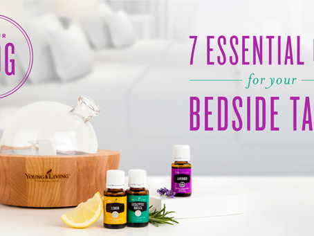Essential Oils for your Bedside Table