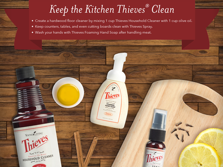 Cleaning with Thieves