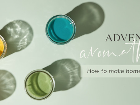 Adventures in aromatherapy: How to make homemade finger paint