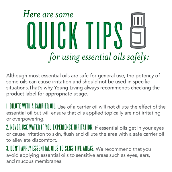 Tips for Essential Oil Safety
