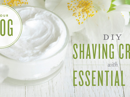 DIY Shaving Cream