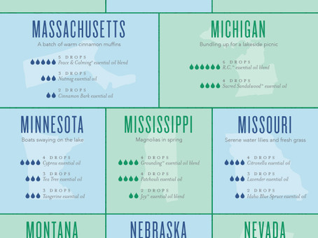 50 Diffuser Blends for Every State