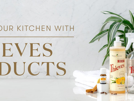 Cleaning your kitchen with Thieves