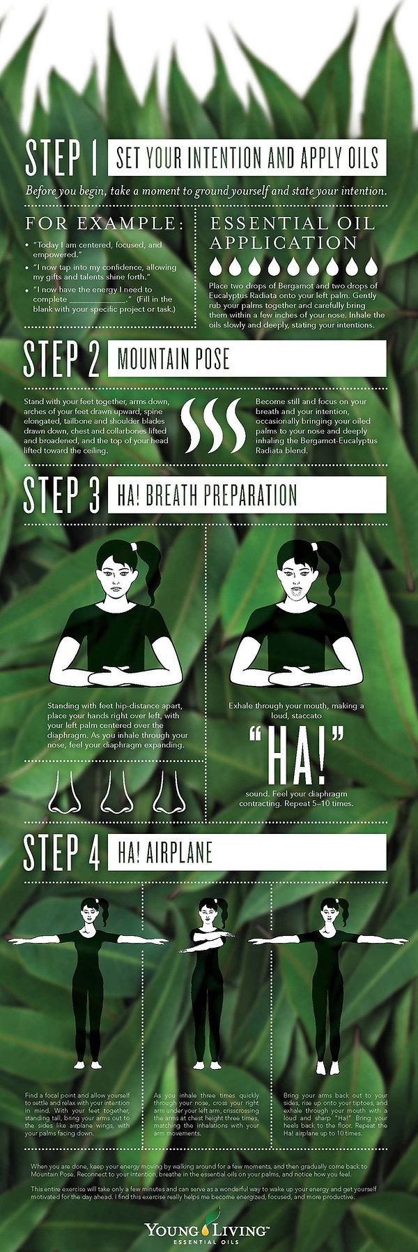 Aroma Yoga Step by Step