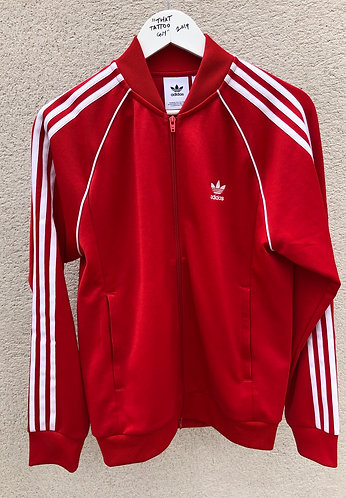 Full Adidas Red Tracksuit