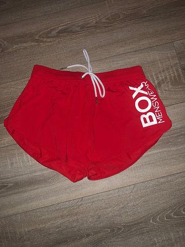 Red Box Tight Swim Short