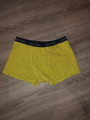 Yellow Calvin Klein Trunk