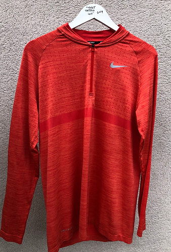 Nike Long Sleeve Quater Zip Training Top