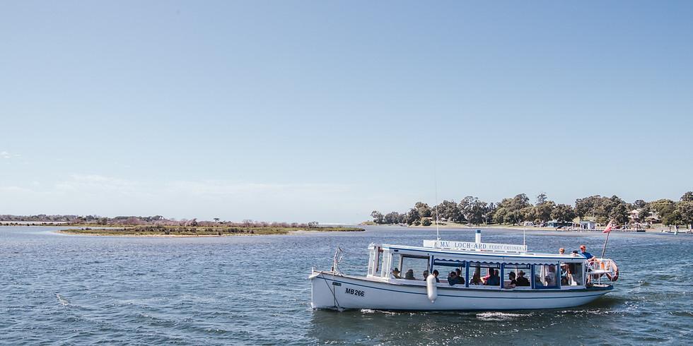 EGCMA Mallacoota Inlet cruise on the M.V. Loch-Ard - Monday Morning