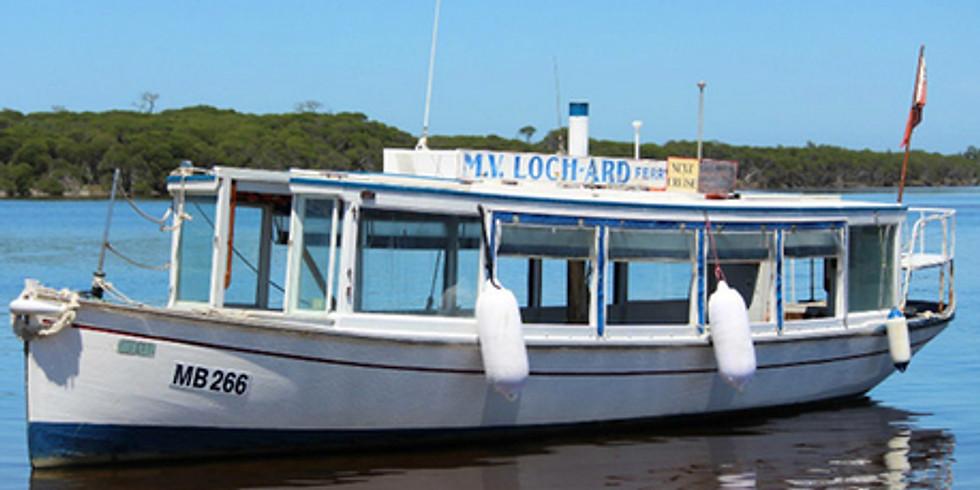 EGCMA Mallacoota Inlet cruise on the M.V. Loch-Ard (1)
