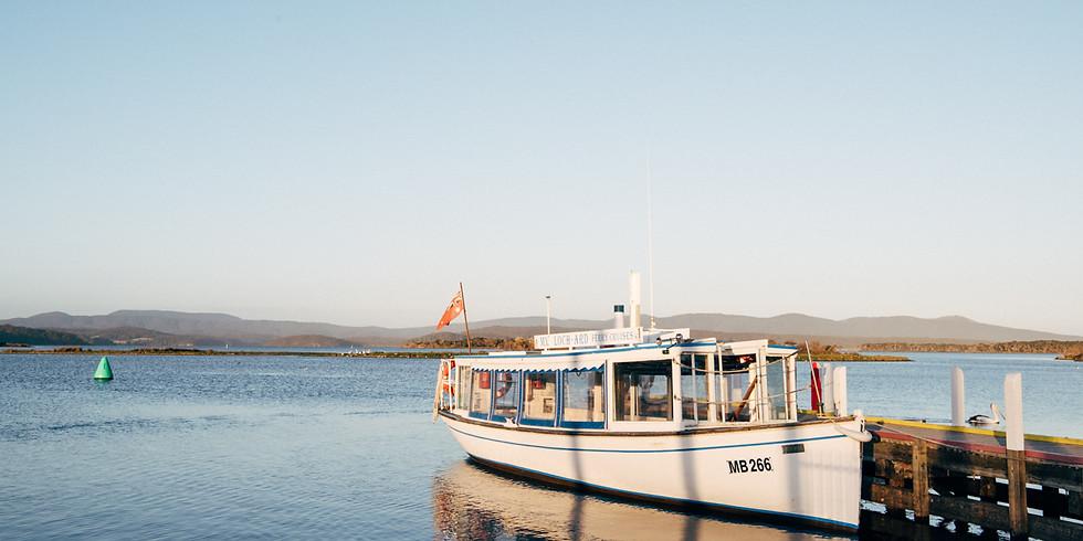 EGCMA Mallacoota Inlet cruise on the M.V. Loch-Ard - Sunday Morning