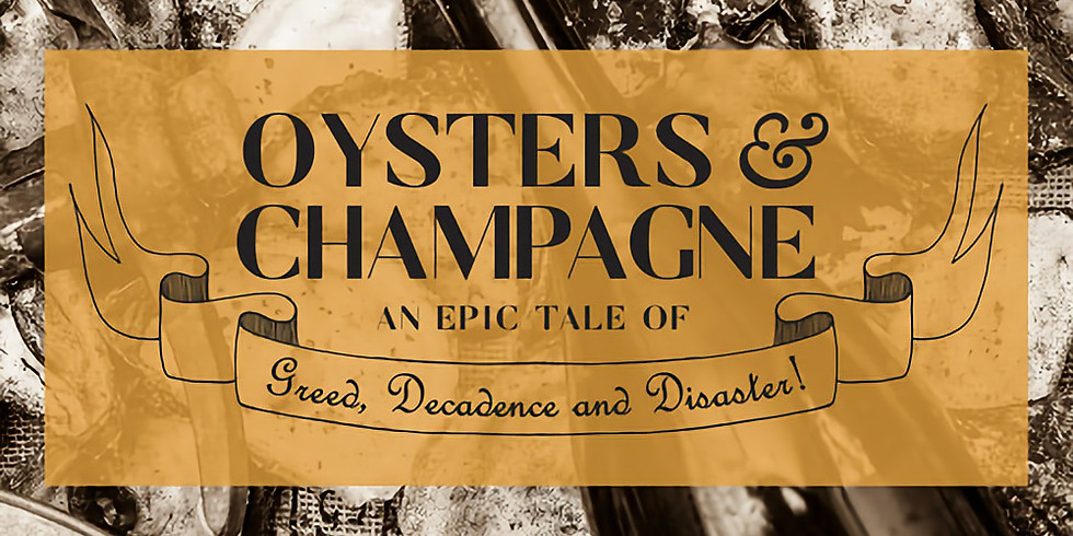 Oysters & Champagne Cruise - The Hungry Gentlemen