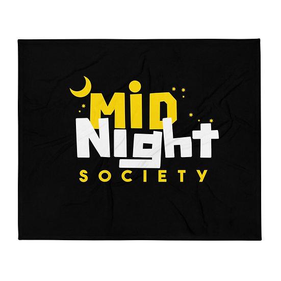 Mid Night Society Blanket