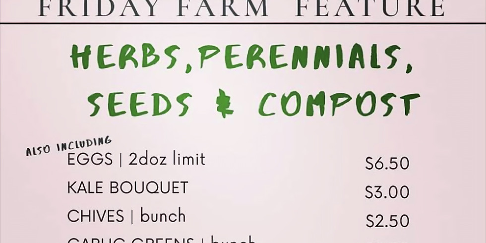 Friday Farm Feature!