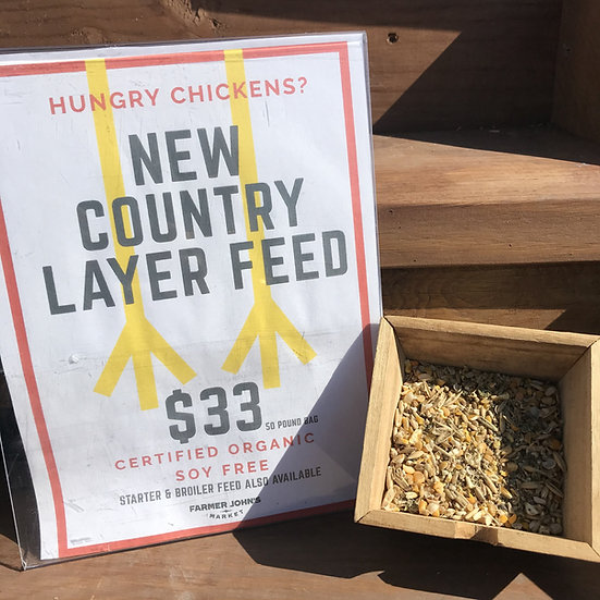 New Country Layer Chicken Feed