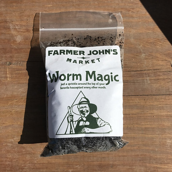 Farmer John's Worm Magic - Sample Size