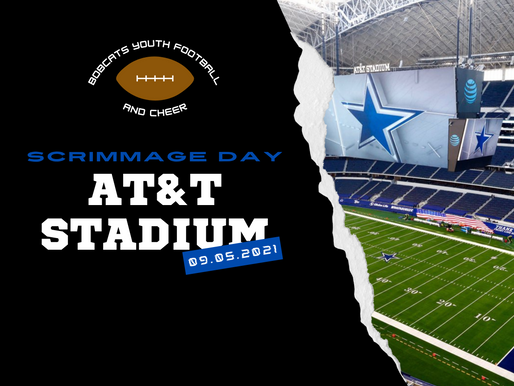 Scrimmage Day at AT&T Stadium
