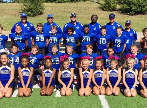 Fall Football and Cheer Registration Opens March 28