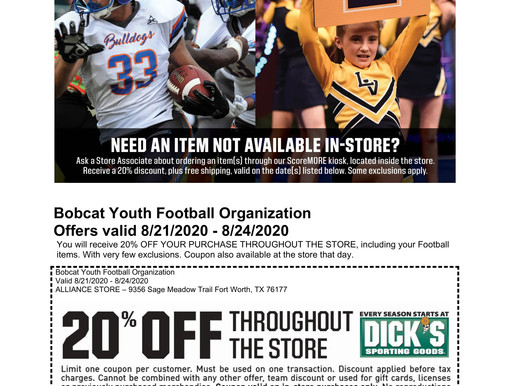 Great Offers from Dick's Sporting Goods!